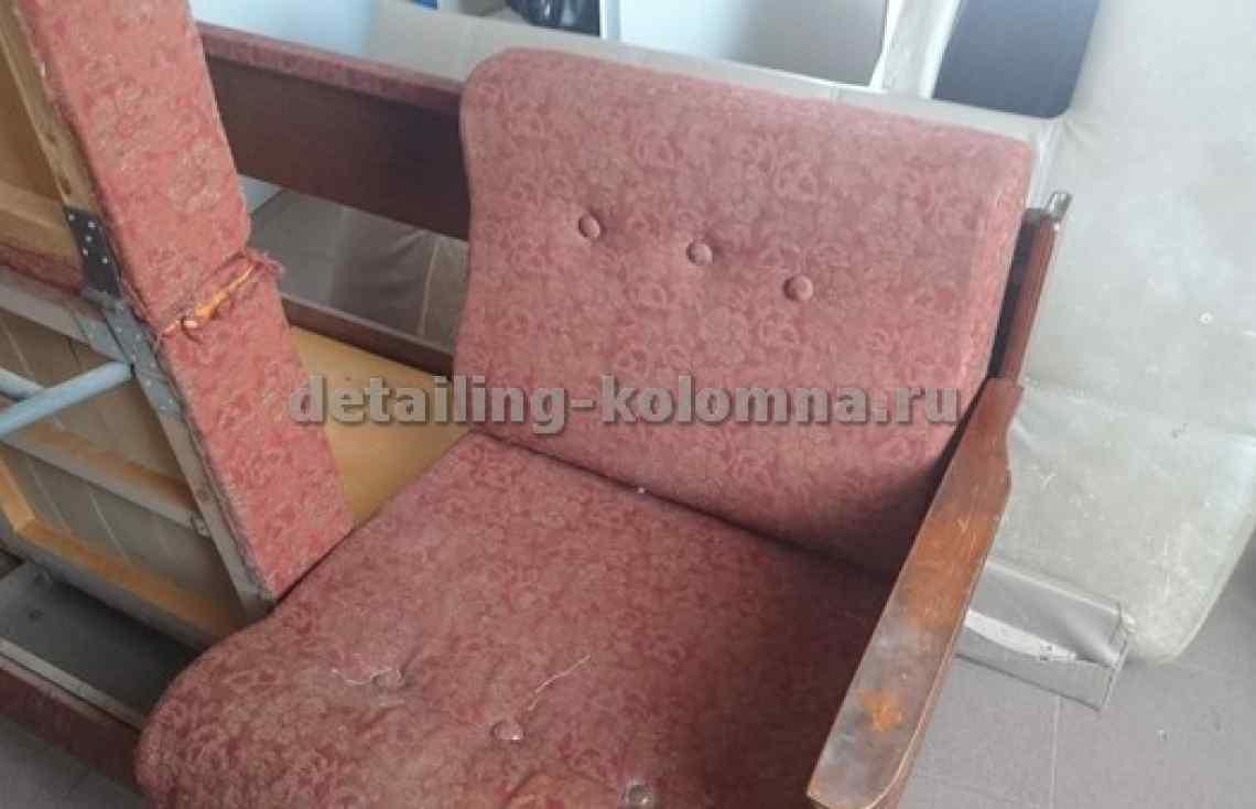 Перетяжка дивана в Коломне